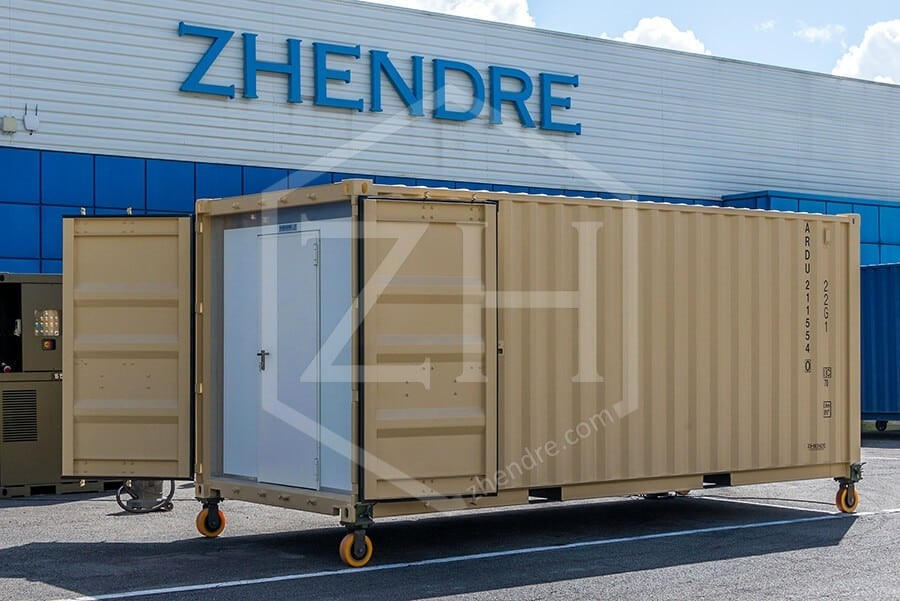 Container stockage d'armes