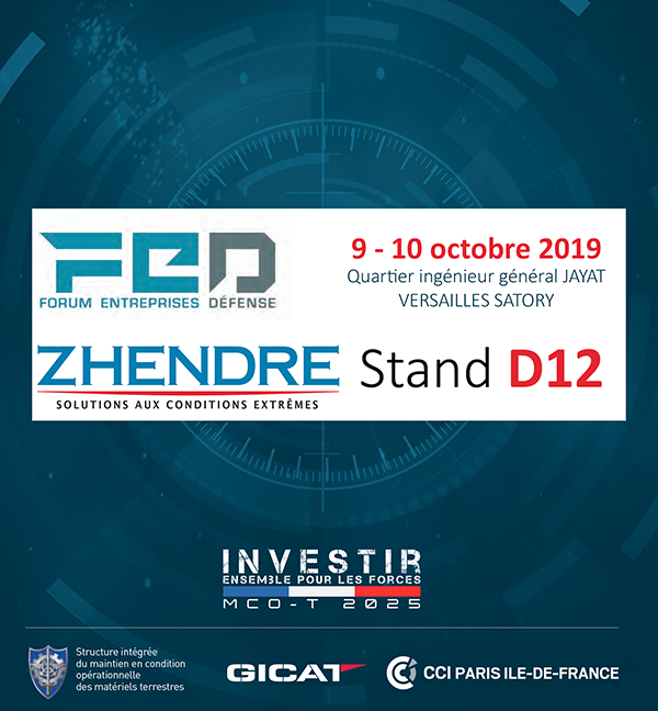 Zhendre Stand D12 - Salon FED 2019
